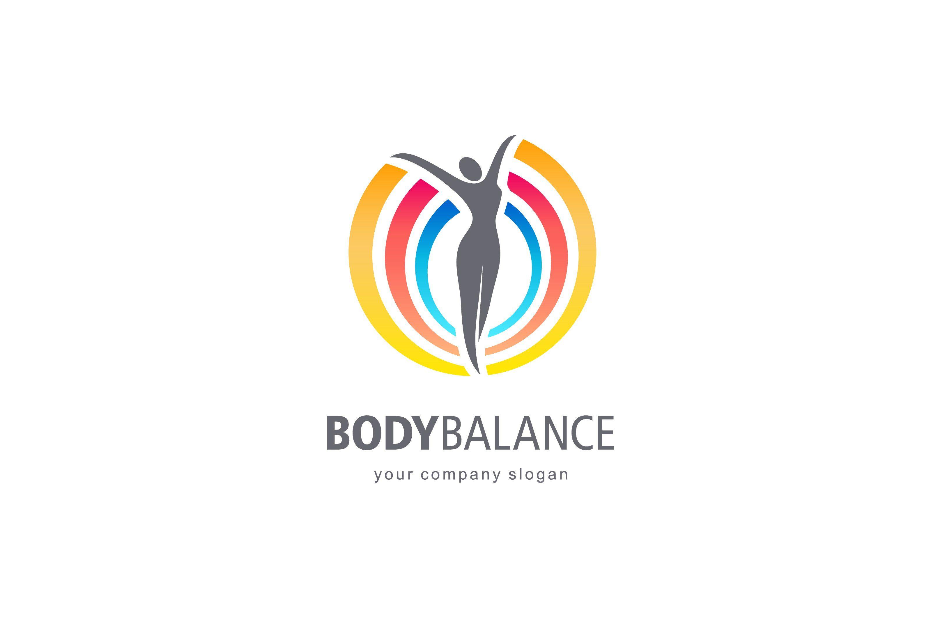Body Balance Logo Vector Logo Design Logo Templates Vector Logo