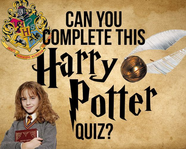 Can You Get To The End Of This Increasingly Difficult Harry Potter Quiz Harry Potter Lustig Harry Potter Quiz Nerd