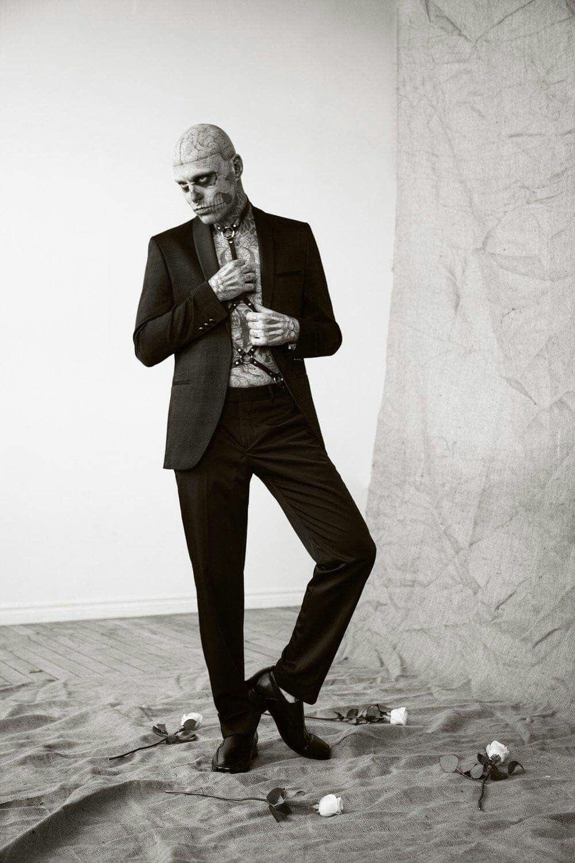 Rick genest - zombie boy in suits