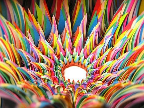 To Have The Patience To Do Something Like This Visually Amazing - Mesmerising hand crafted paper sculptures jen stark