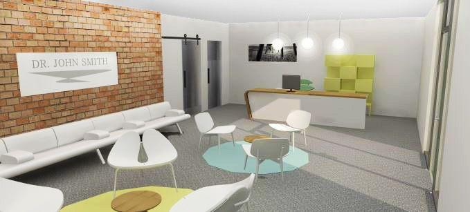 Modern Doctor Office Lobby Design
