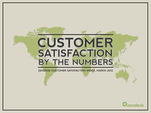 Zendesk Customer Satisfaction Numbers