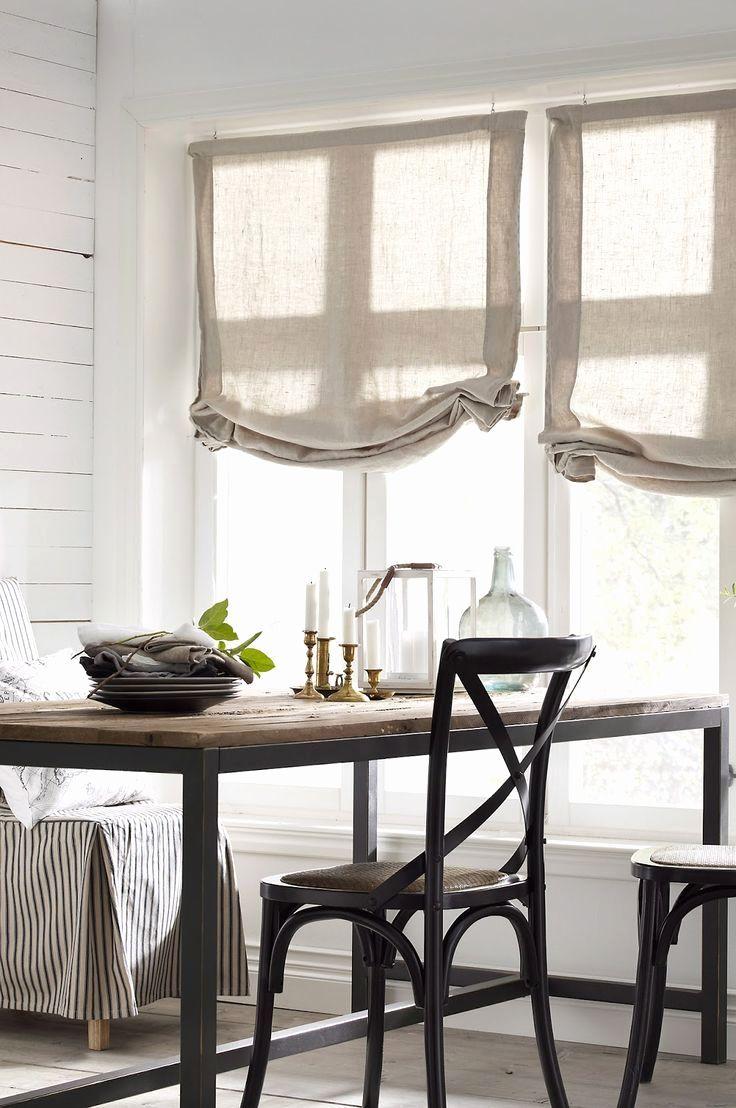 Dimensioni Finestre Camera Da Letto 30 ispiratore tende di lino per cucina foto (con immagini