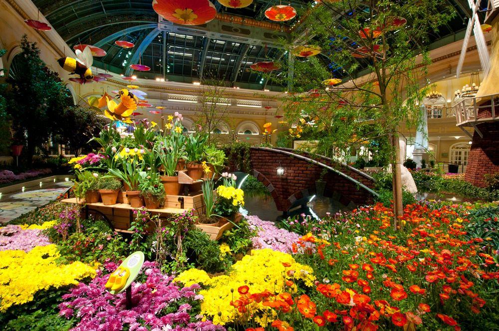 Las Vegas Bellagio Spring 2012 Botanical gardens