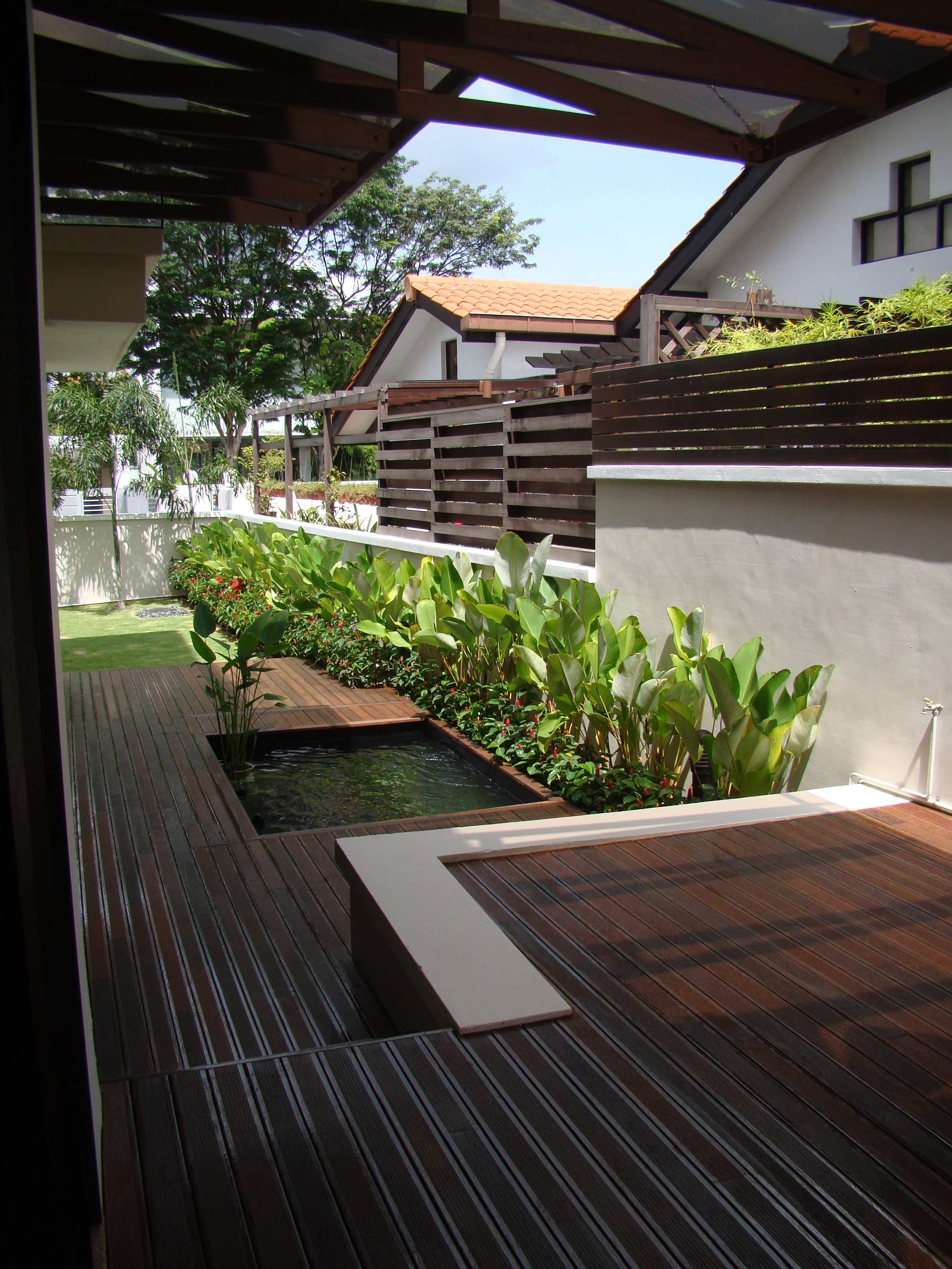 Evorich Outdoor Decking Collection Palm Wood Decking Palm Wood Is A Renewable Natural Resource That Makes It Very Eco Friendly Outdoor Decking Timbe
