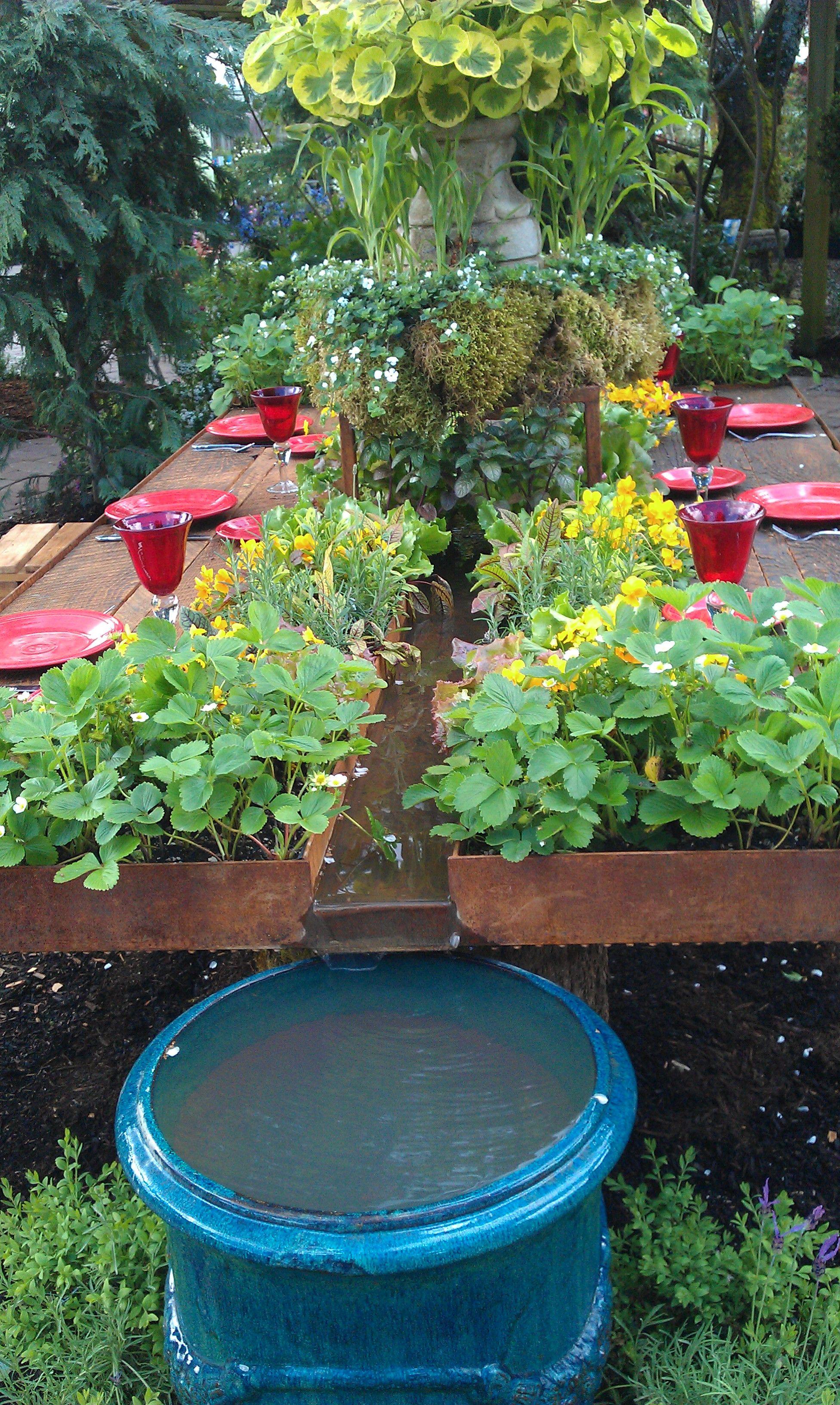 Planted Garden Table At Bauman Farms Http Www Baumanfarms Com Small Backyard Gardens Edible Garden Edible Landscaping 400+ garden and backyard landscape design ideas