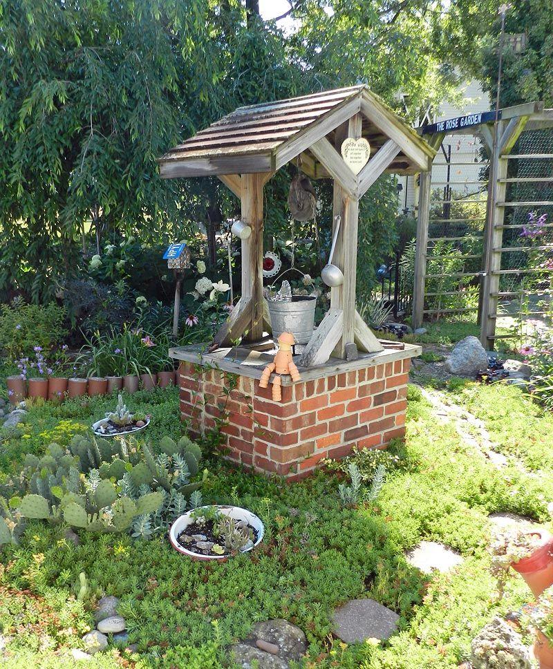 garden wishing larry
