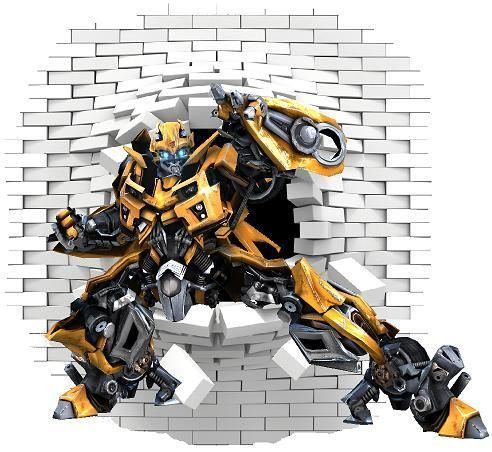 Bumblebee Transformers Wall decal and stickers.  sc 1 st  Pinterest & Bumblebee Transformers Wall decal and stickers | Wall decals Wall ...