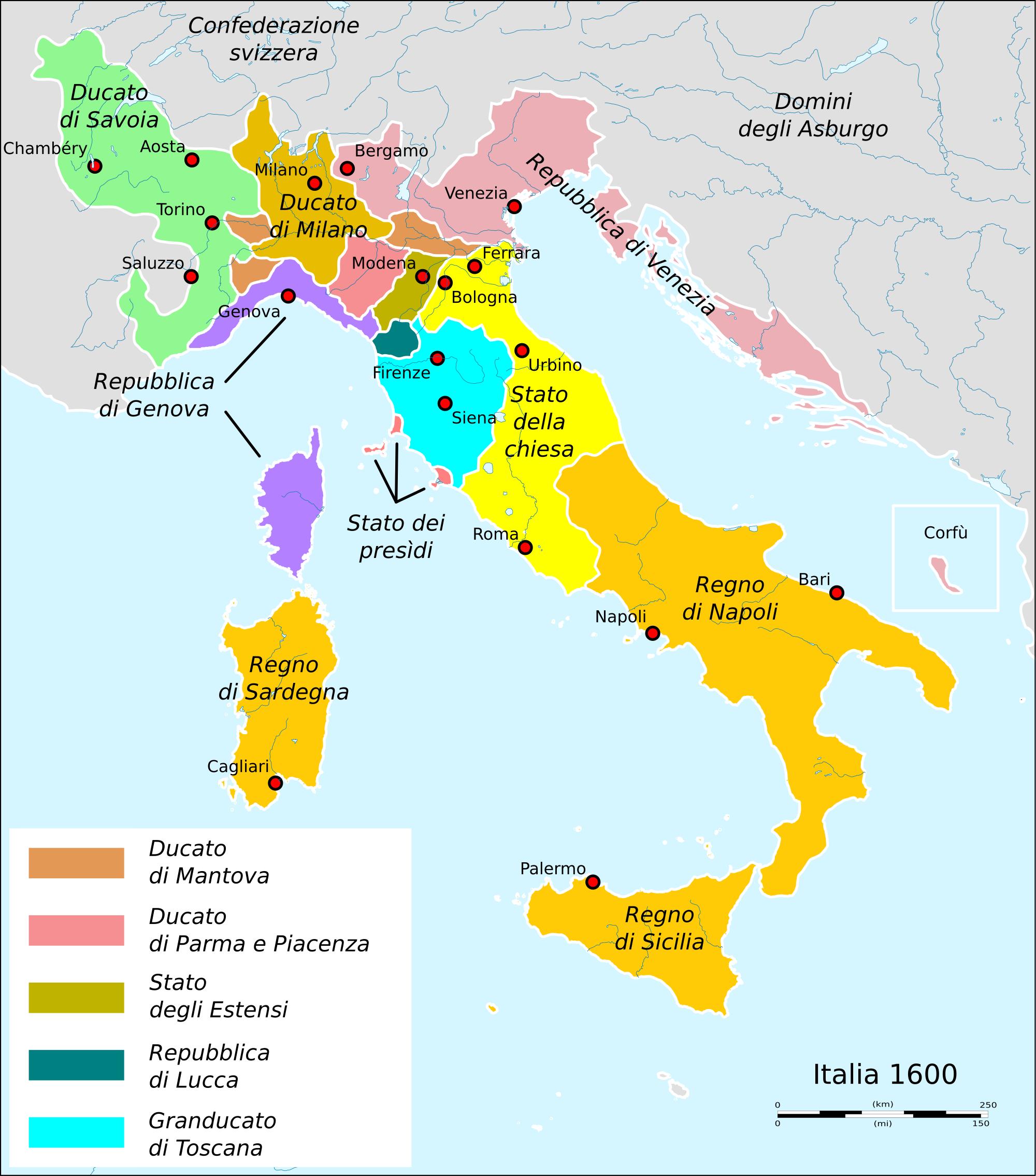 Cartina Italia Siena.Cartina Storiografica Italia Del Seicento Cerca Con Google Italia Siena Corfu