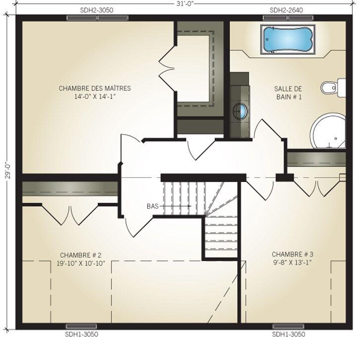 Maison neuve - Cottages, modèle Lethicia Préfab Maison Pinterest - prix de construction maison