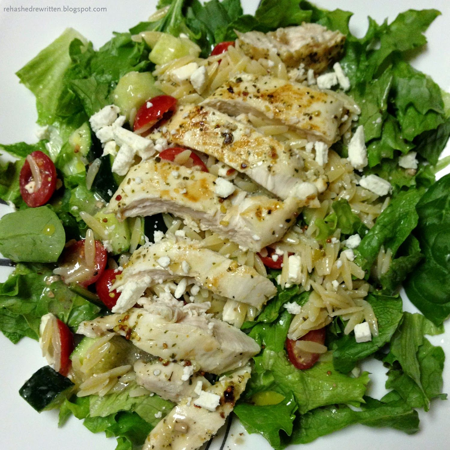 Zoes Kitchen Menu Nutrition: Orzo Salad With Lemon Dressing