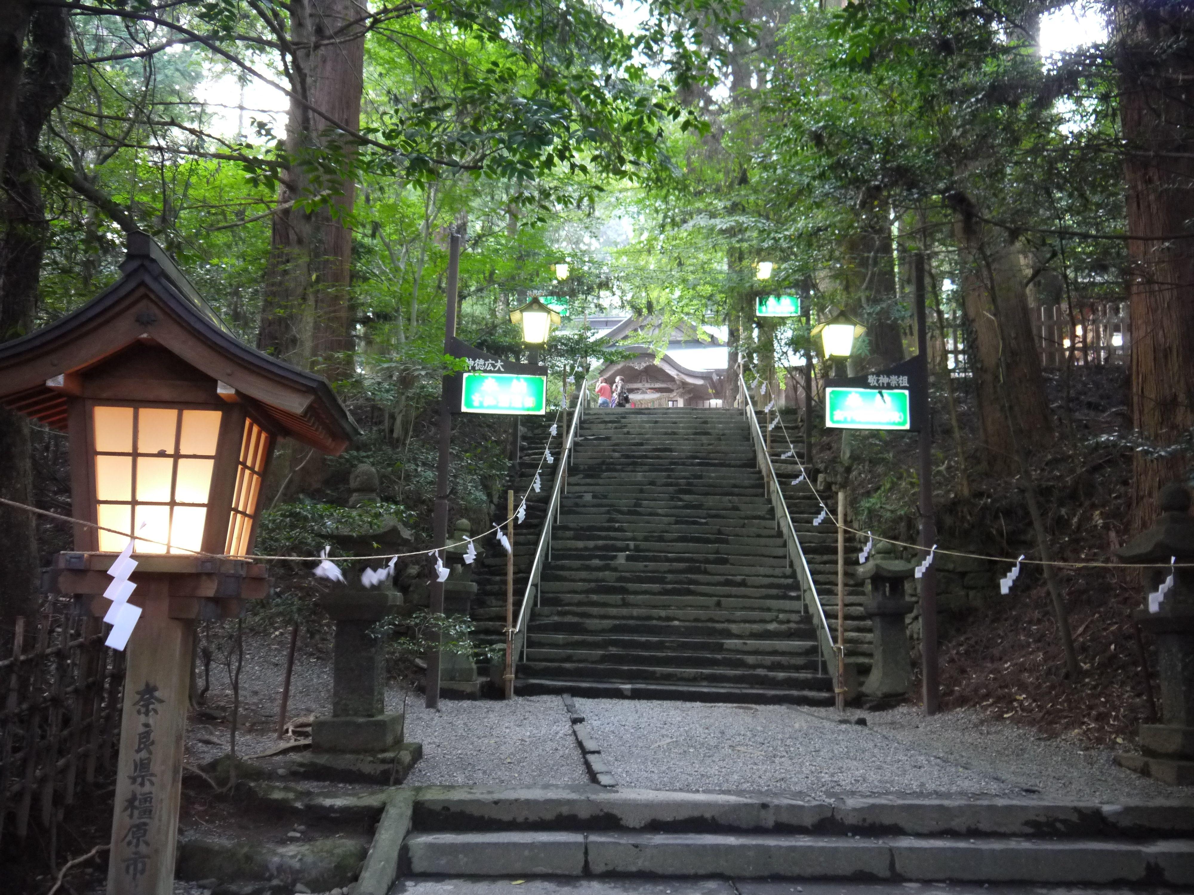 宮崎、高千穂神社。このお二人には御祈りする事がたくさん。