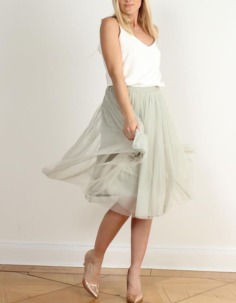 schönes Design neueste Kollektion bestbewertetes Original Kurzer Tüllrock - Hochzeitsrock - Braut Standesamt Dieser ...