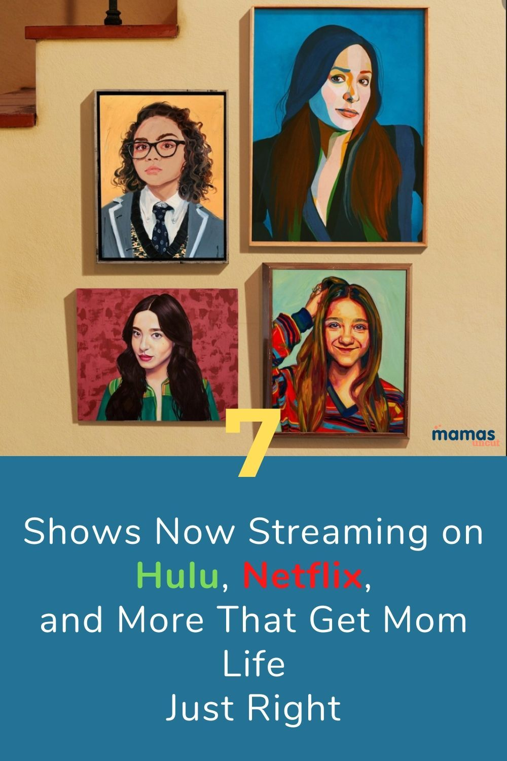 These 7 shows, now available on streaming services such as Netflix and Hulu, get Mom Life and Parenting Right just life... and they're entertaining to boot!#parentingTV #hulu #netflix #black-ish #singleparents