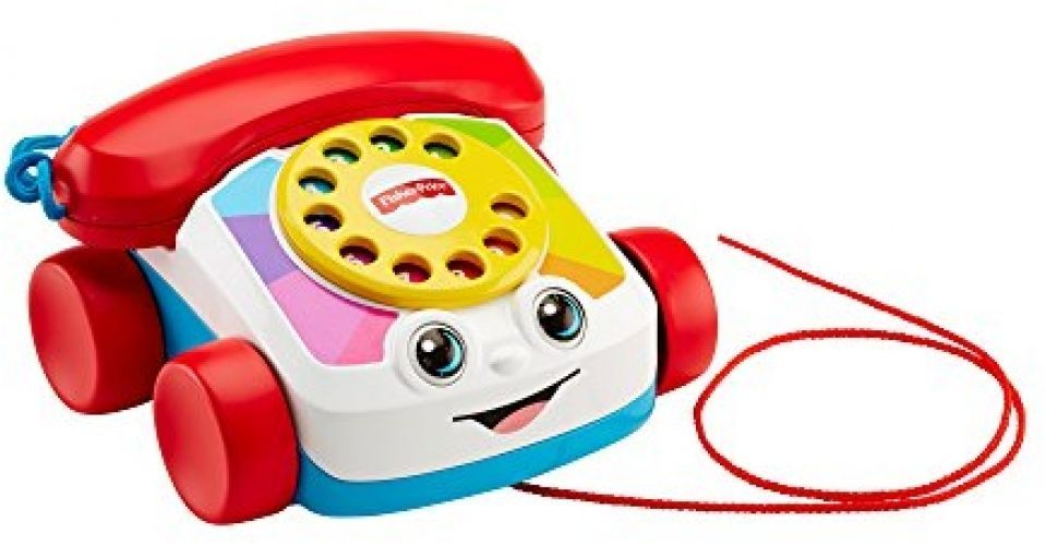 Baby Classic Telephone Pull Toy NEW Pretend Play Ringing