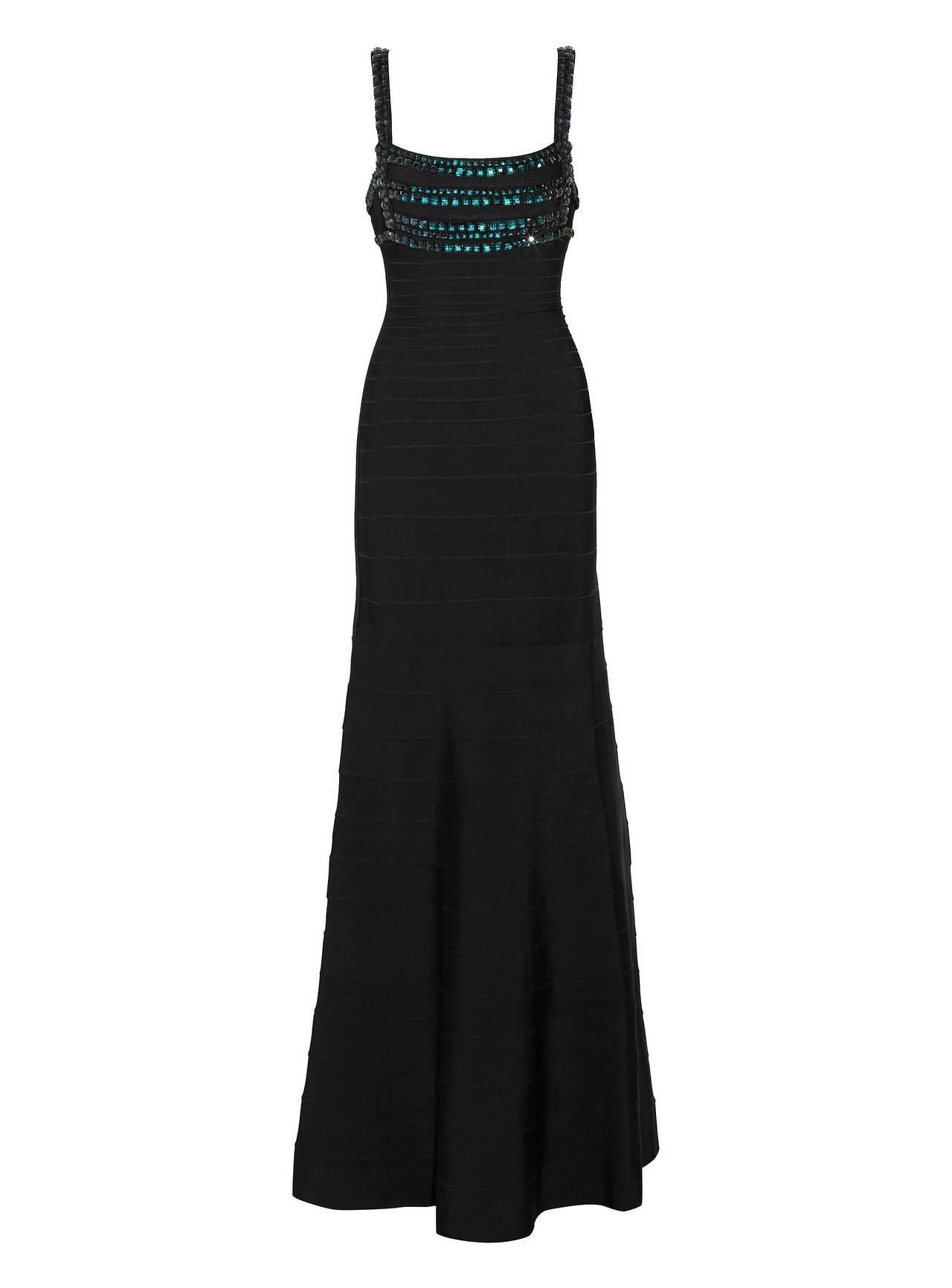 Hervé léger gown haute couture pinterest gowns