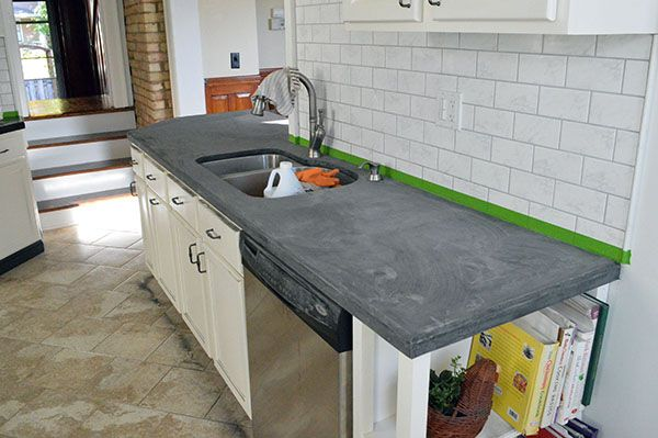 Ardex Counters The Honeymoon Is Over Kitchen Remodel Kitchen