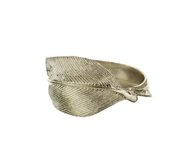 Annette Ferdinandsen | Feather Ring in Rings Bands at TWISTonline