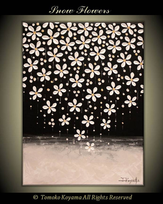 Original Impasto abstrakte Malerei Galerie gewickelt von - wohnzimmer bilder abstrakt
