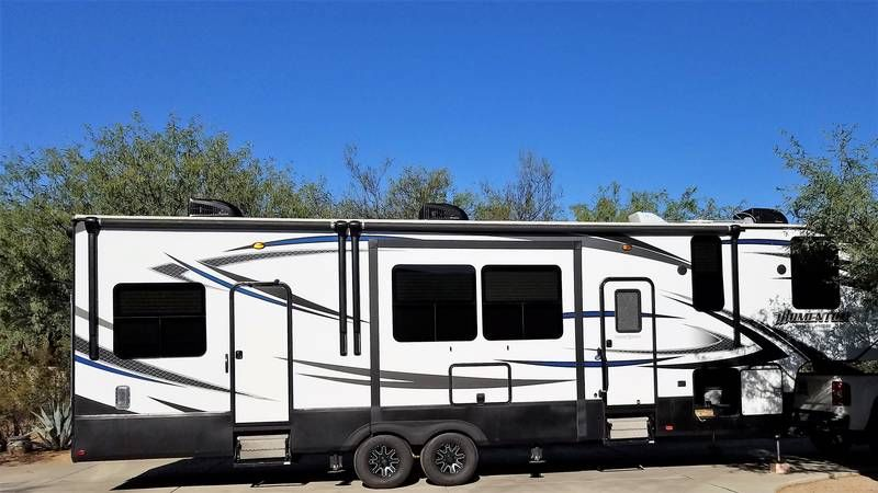 2020 Grand Design Momentum G Class 350g Toy Hauler Camper Grand