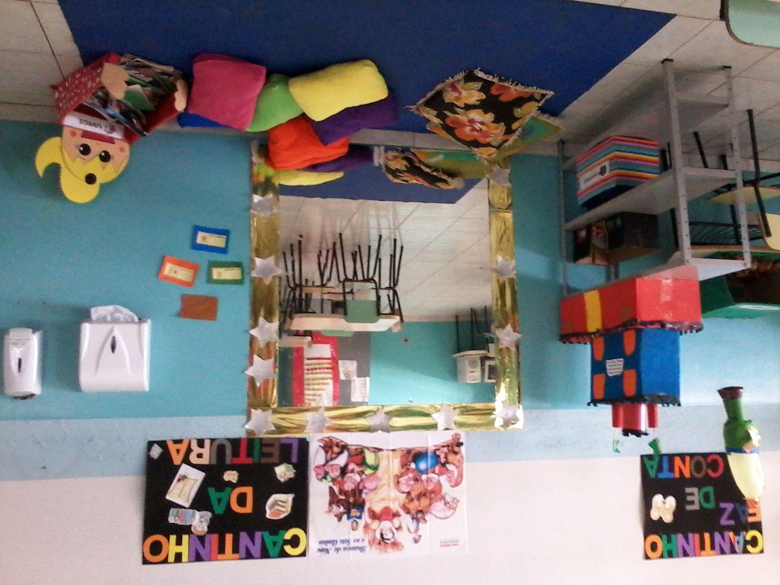 Sugest?o de Cantinho da Leitura para a sala de aula do Maternal 2 ...
