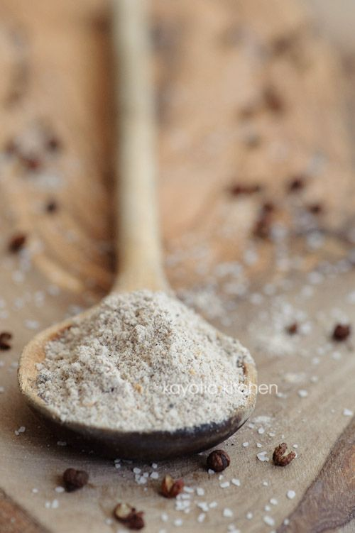 ROASTED SICHUAN PEPPER SALT (sichuan pepper aka sichuan peppercorn aka chinese coriander) [kayotic] [sichuan, szechwan, szechuan]