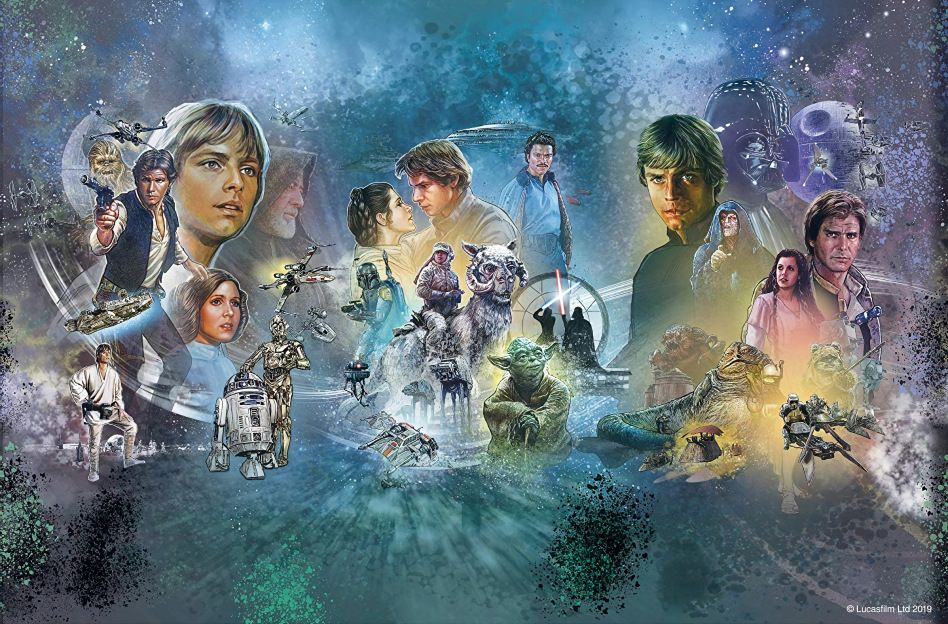 Star Wars Celebration 2019 Official Full Mural Poster Hi Res Star Wars Pictures Star Wars Celebration Star Wars Images