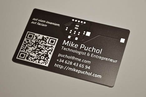 Technologist and entrepreneur qr code business card business card technologist and entrepreneur qr code business card reheart Choice Image