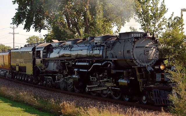 The World's Largest Operating Steam Locomotive in 2019