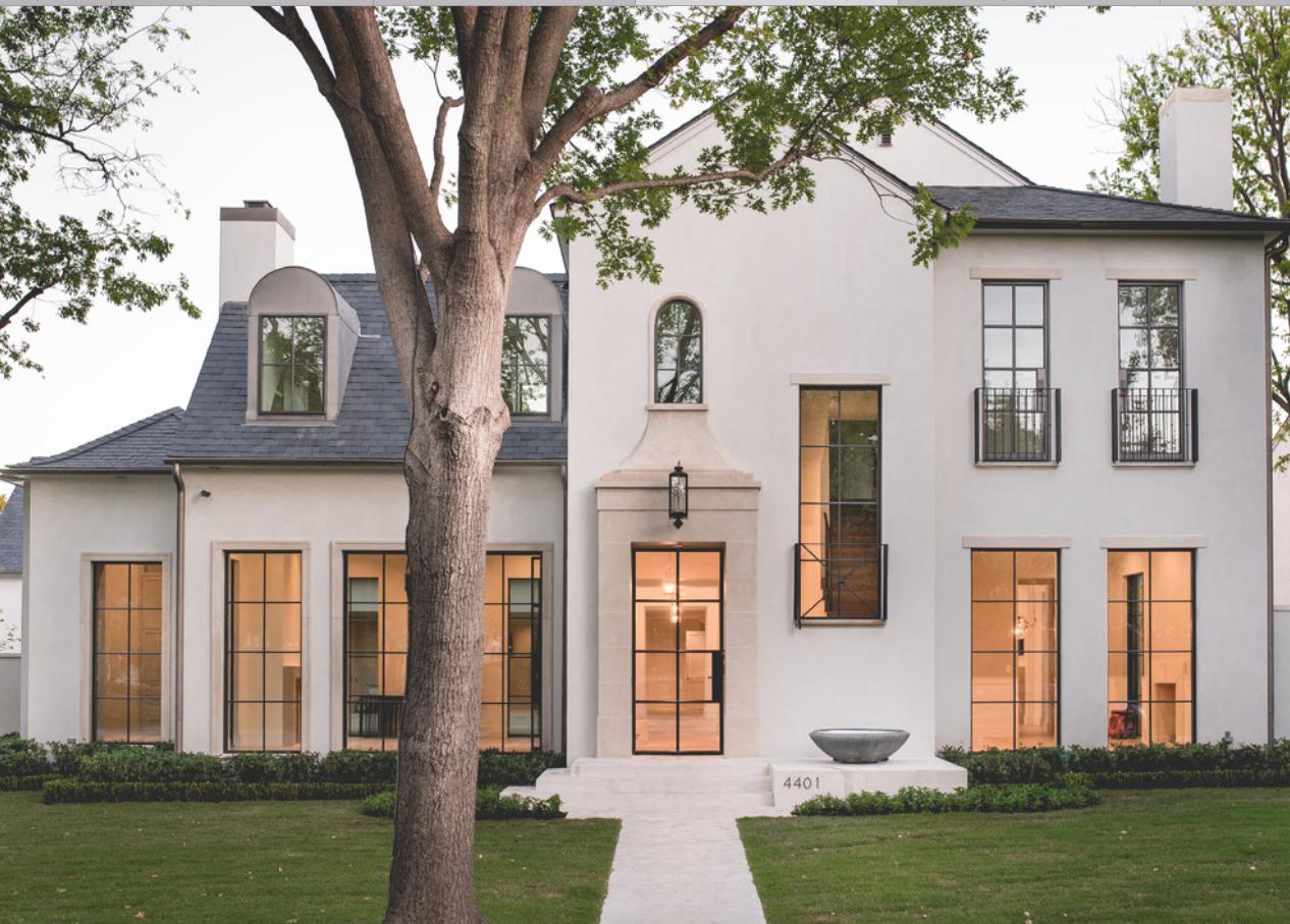 White House With Black Windows White Exterior Houses Modern Farmhouse Exterior House Designs Exterior