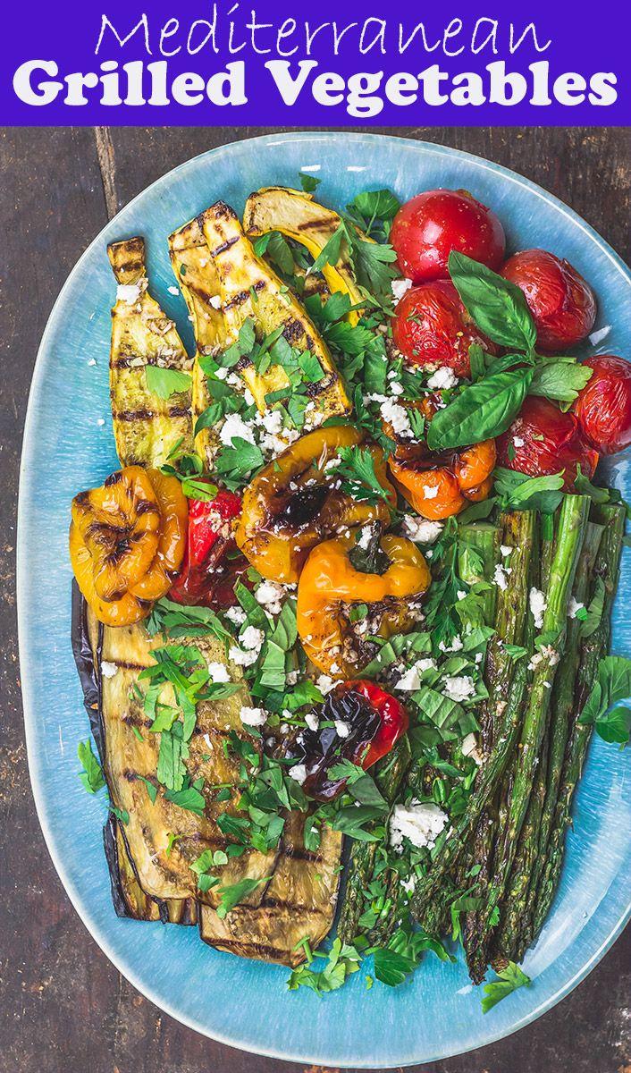 Mediterranean Easy Grilled Vegetables images