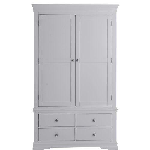 Brambly Cottage Flora 2 Door Wardrobe 2 Door Wardrobe Wardrobe Doors Sliding Wardrobe