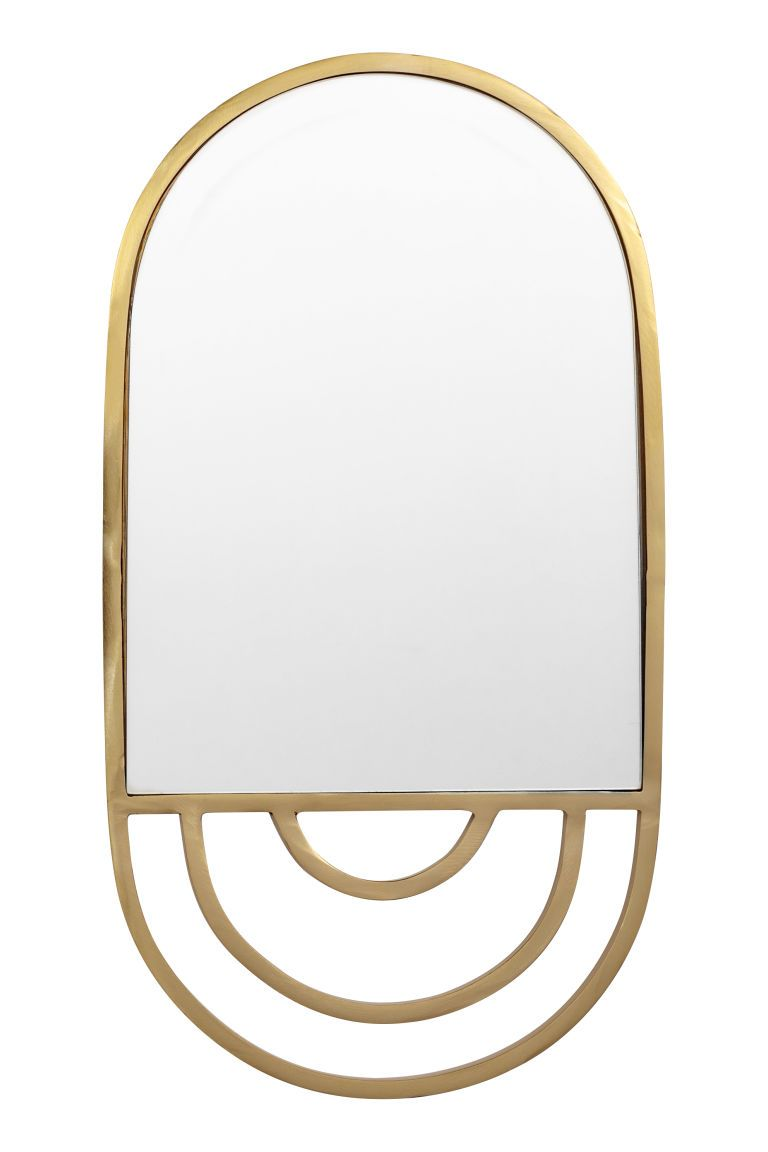 Espejo con marco de metal - Dorado - HOME | H&M ES 1 | espejos ...