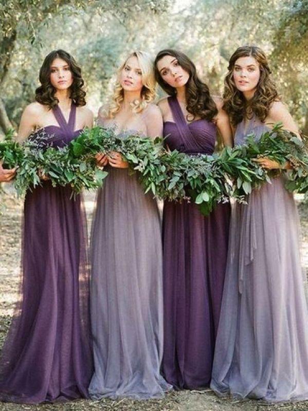 Pantone colors bridesmaid dresses