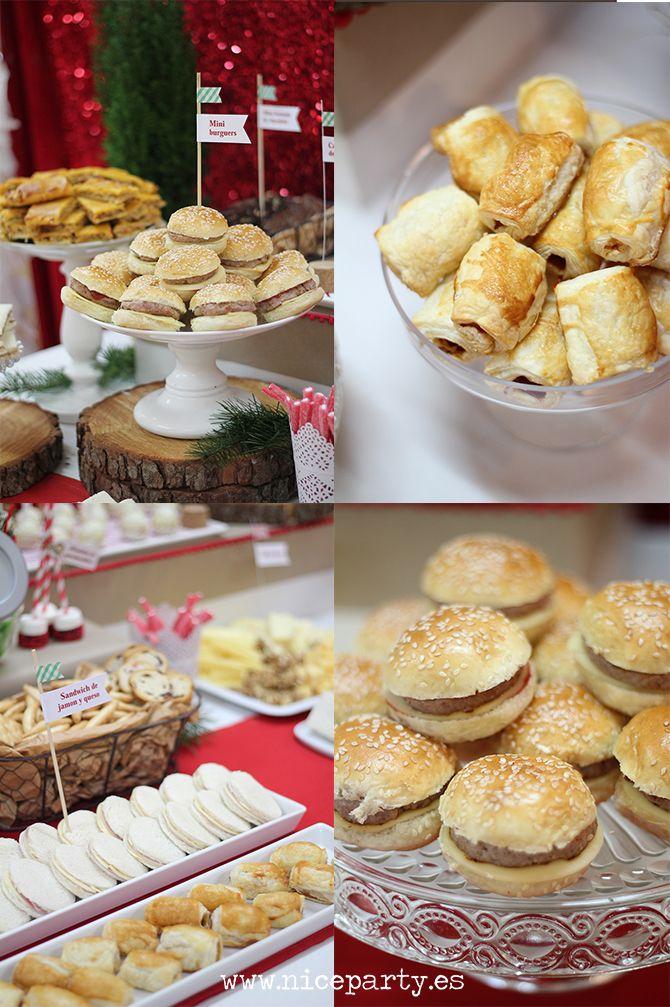 Nice Party La Gran Merienda De Navidad Comida Para Cumpleaños Infantiles Comida Para Cumpleaños Comidas Saladas Para Cumpleaños