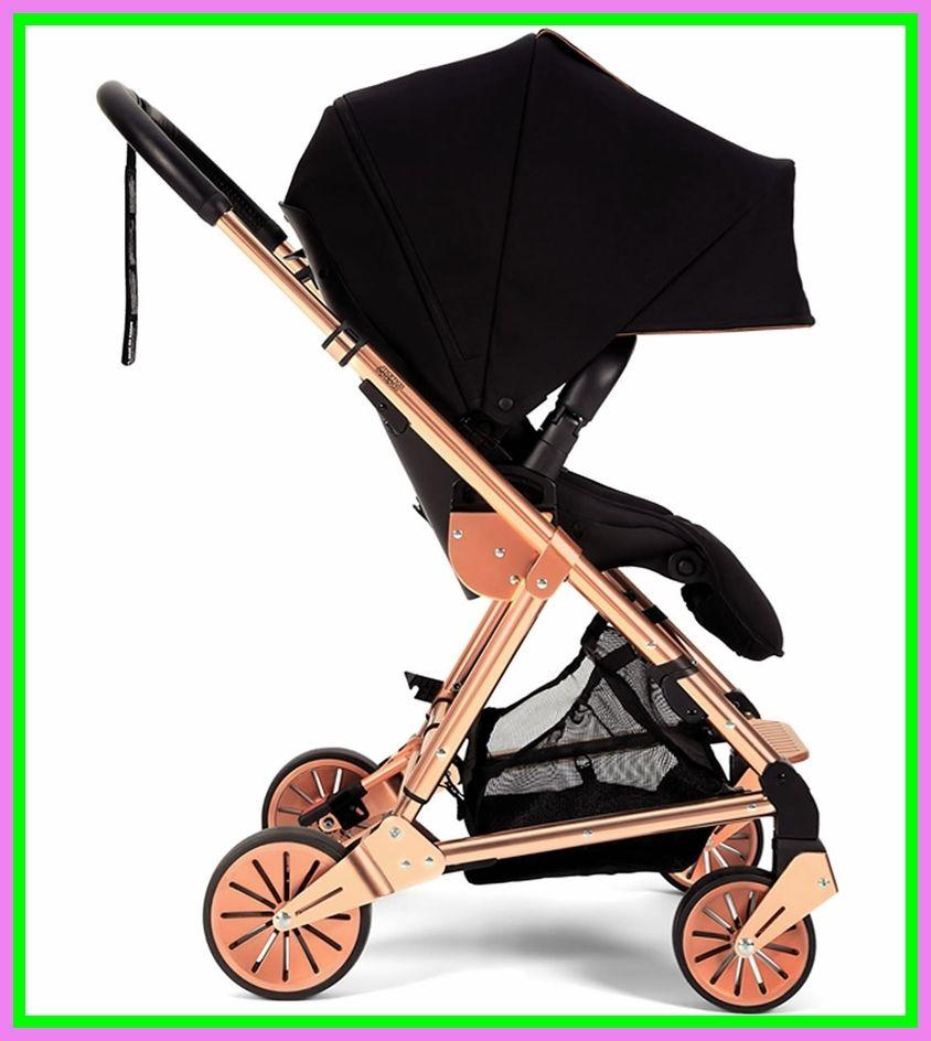my babiie stroller rose gold and navymy babiie