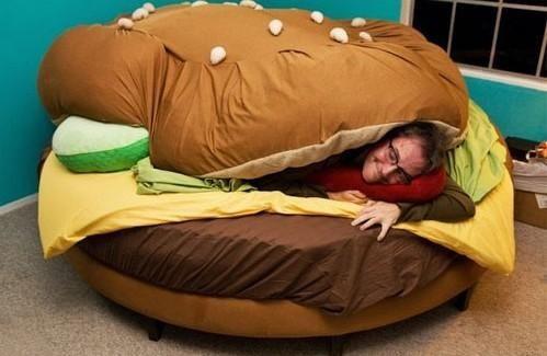 햄버거 침대
