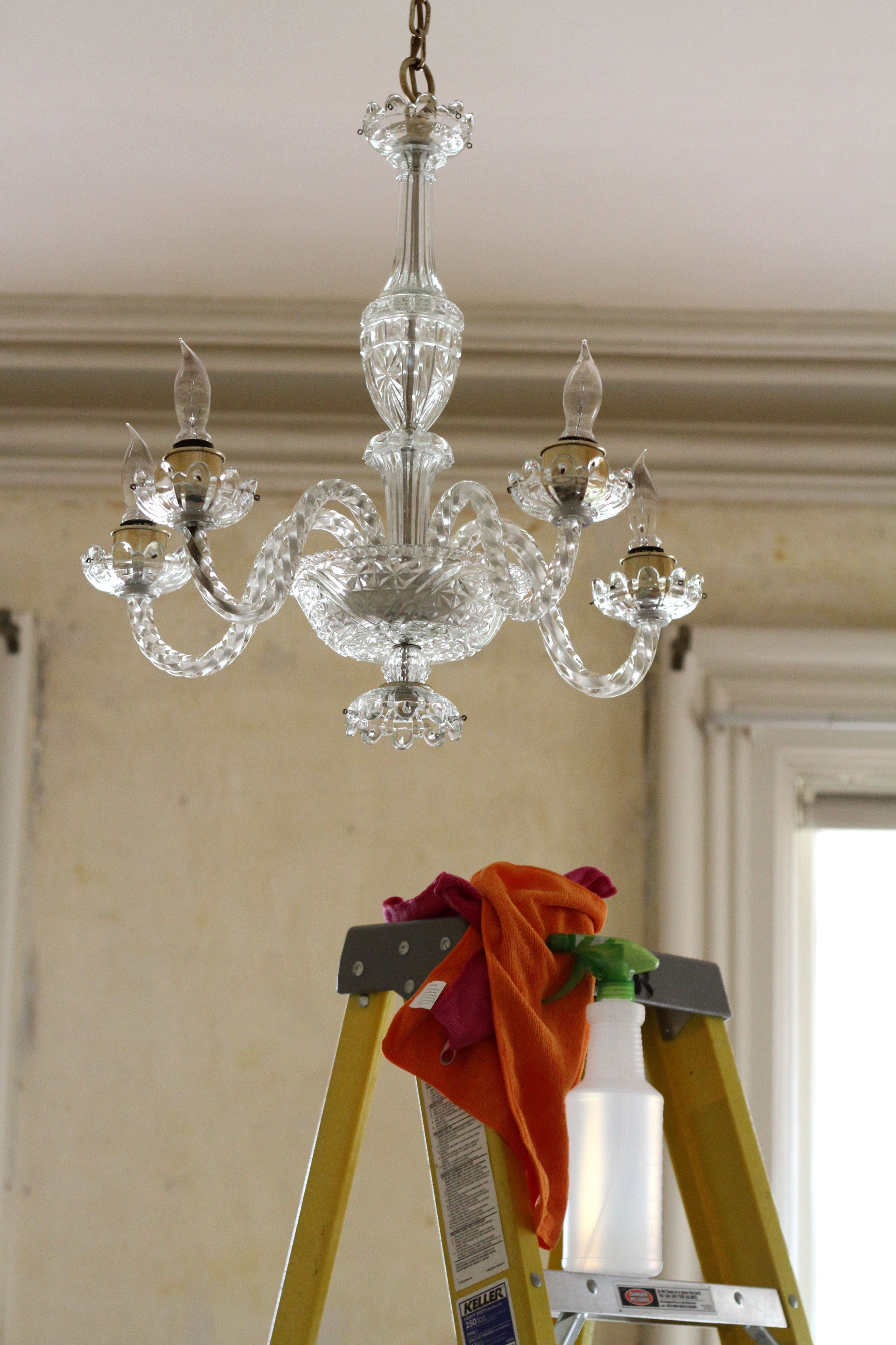 Take It From The Top: Tips U0026 Tricks For Cleaning Ceiling Fans And Fixtures