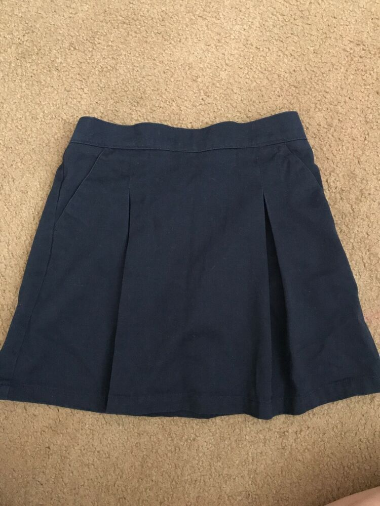 George Girls/' School Uniform Twill Scooter with Pockets