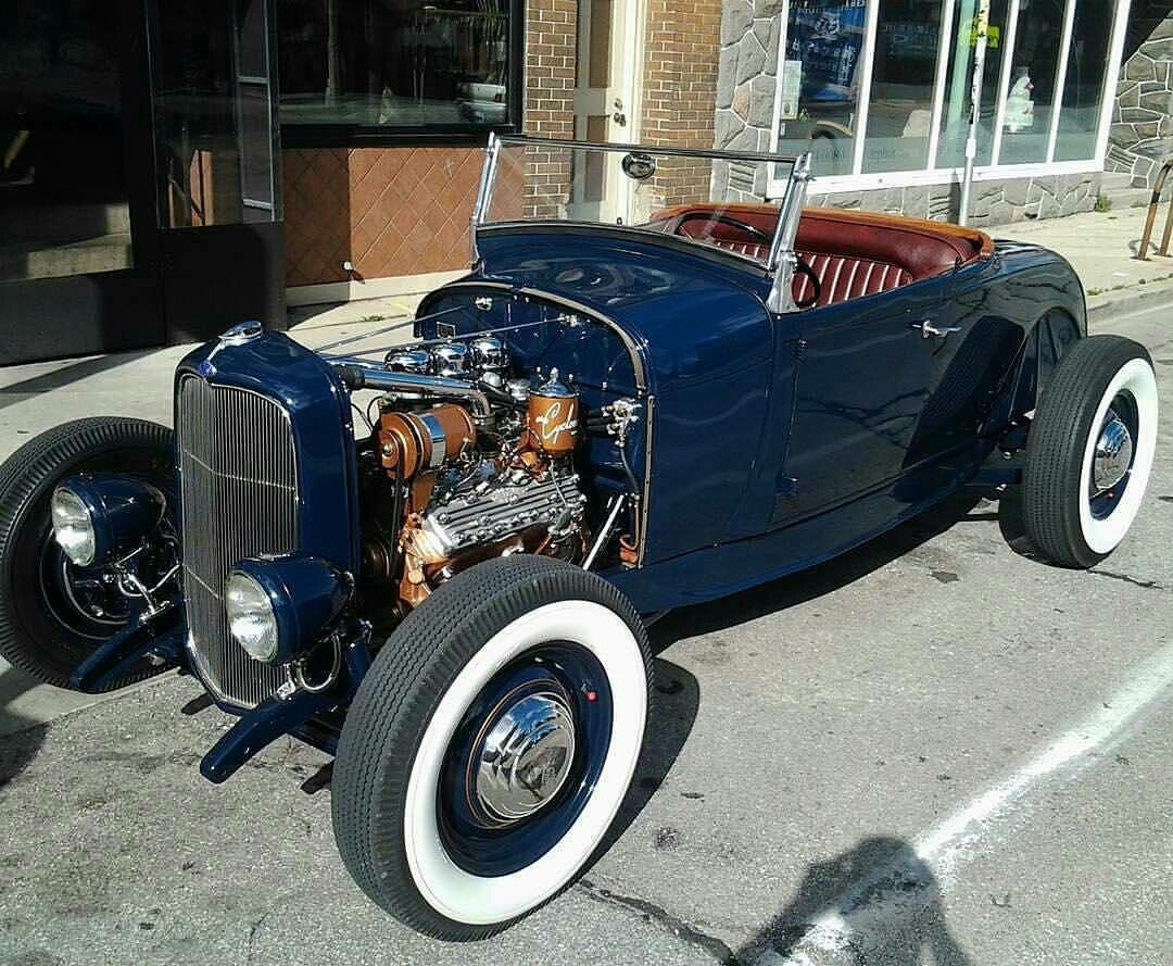 Classy old school hot rod | Hot rods | Pinterest | Cars, Rats and ...