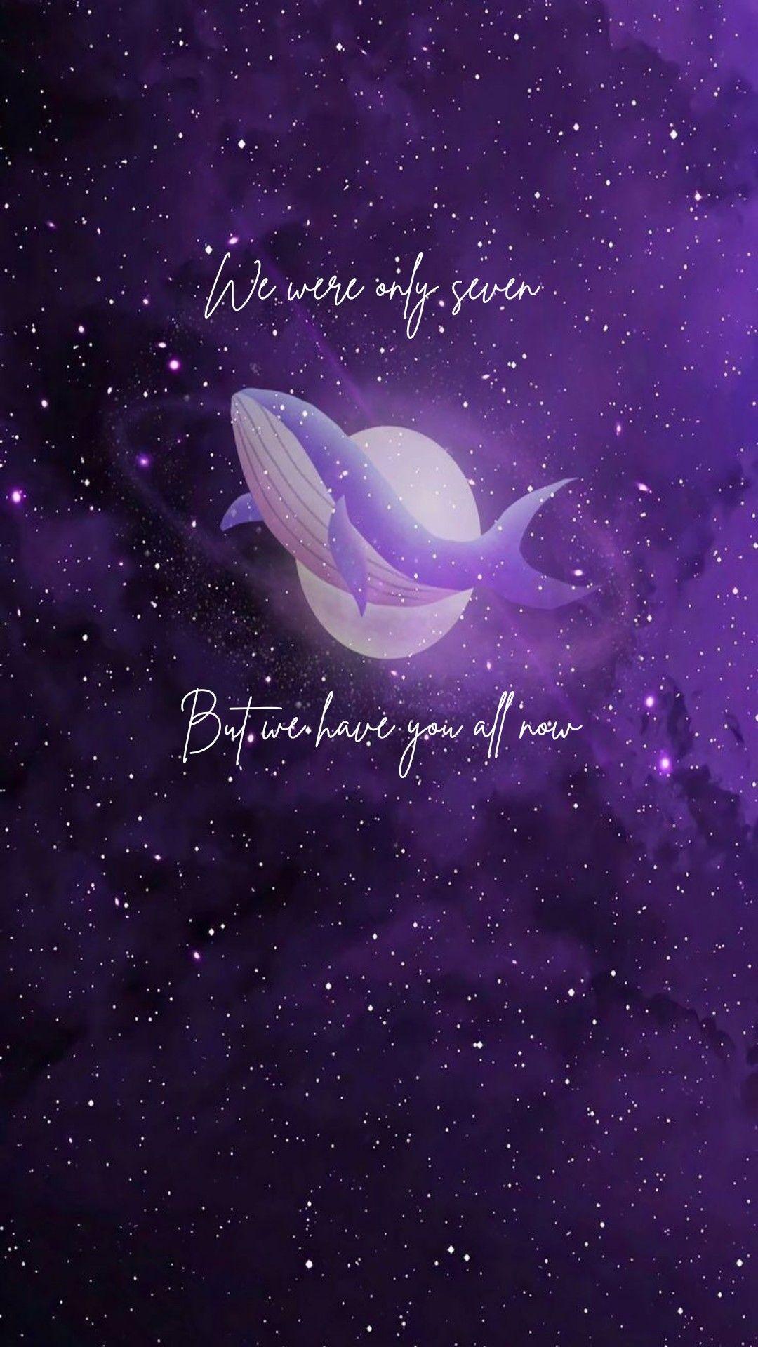 We Are Bulletproof The Eternal Bts Wallpaper Iphone Wallpaper Bts Bts Drawings Bts purple whale wallpaper