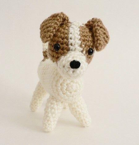 Amigurumi Dog Crochet Pattern | Supergurumi | 470x450