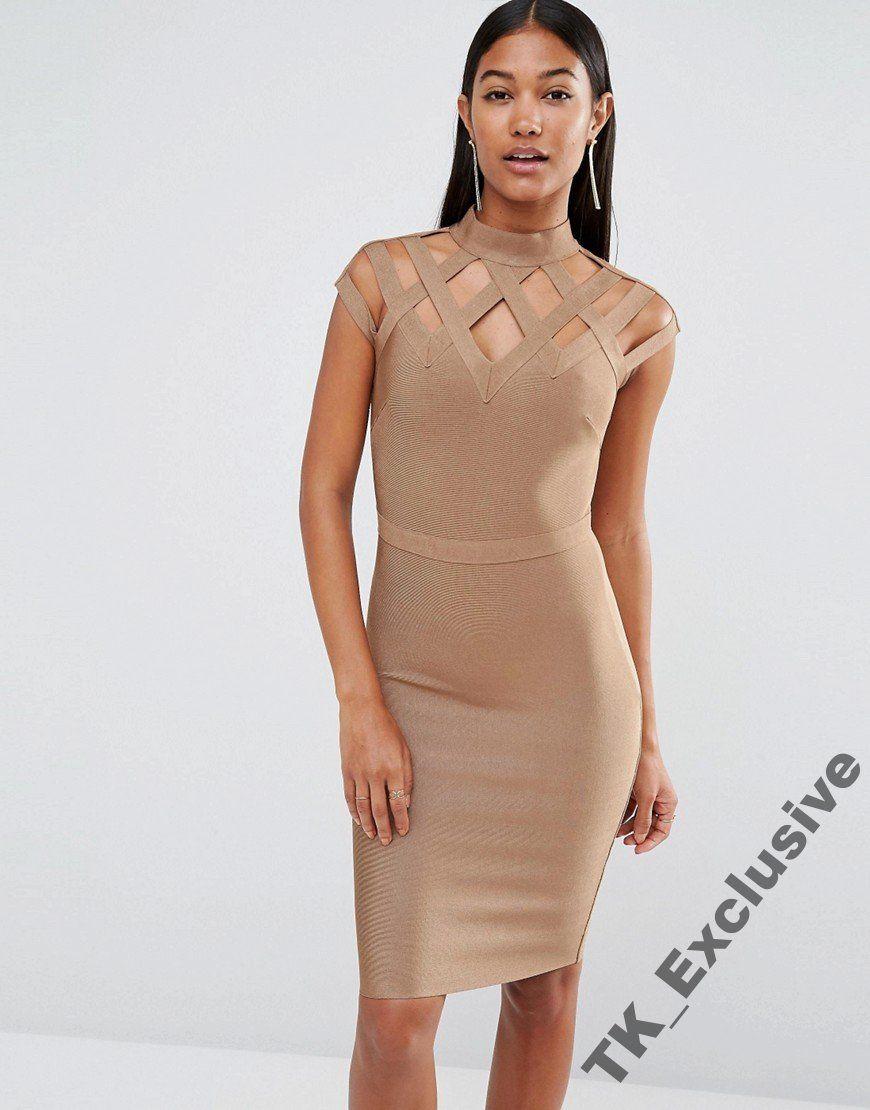 Asos Sukienka Wieczorowa Bandazowa Paski Rozmiar 6459922708 Oficjalne Archiwum Allegro Wow Couture Beautiful Dresses Women Dress Online