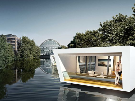 Floating Homes in Hamburg | Hausboot | Pinterest | Hamburg