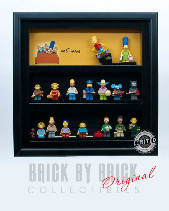 Custom Display Case For Lego Simpsons By Brickbybrickcollect