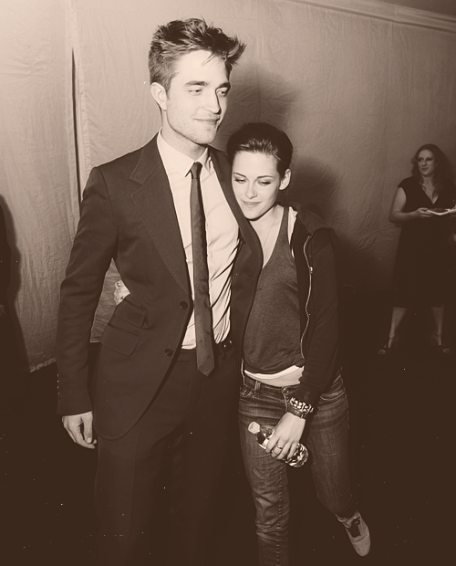 Rob & Kristen Robert pattinson and kristen, Kristen and