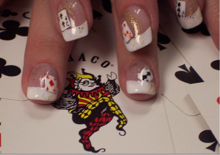 vegas nails Vegas nails, Vegas nail art, Vacation nail art