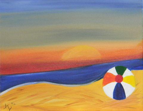 Kids Beach Paintings