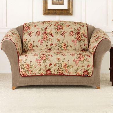 Sure Fit Furniture Friend Pet Throw   Loveseat Slipcover   Lexington F