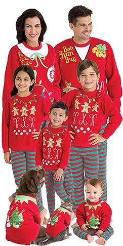 f51cd54f45 pajamagram family christmas pajamas cotton christmas pjs matching ...